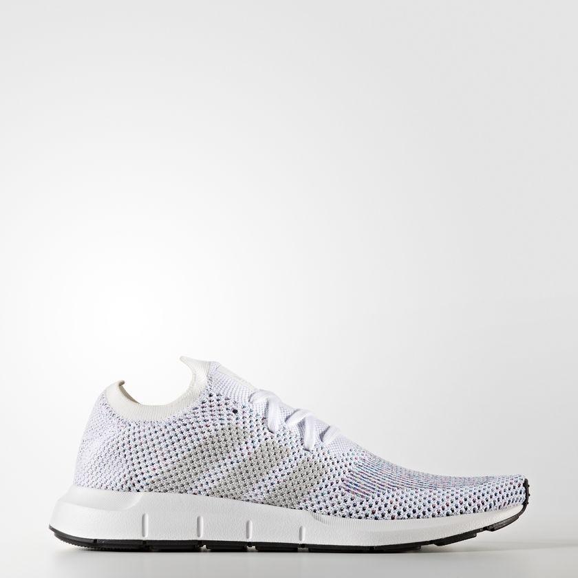 ADIDAS ORIGINALS Tenisky Adidas Swift Run Primeknit White - Pánske ... 2dcbf323517