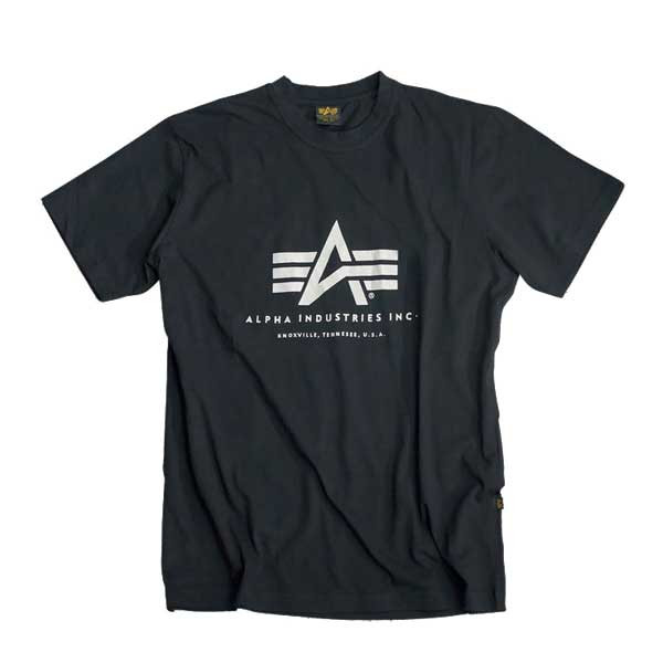 Alpha Industries Basic Tee Black - XL