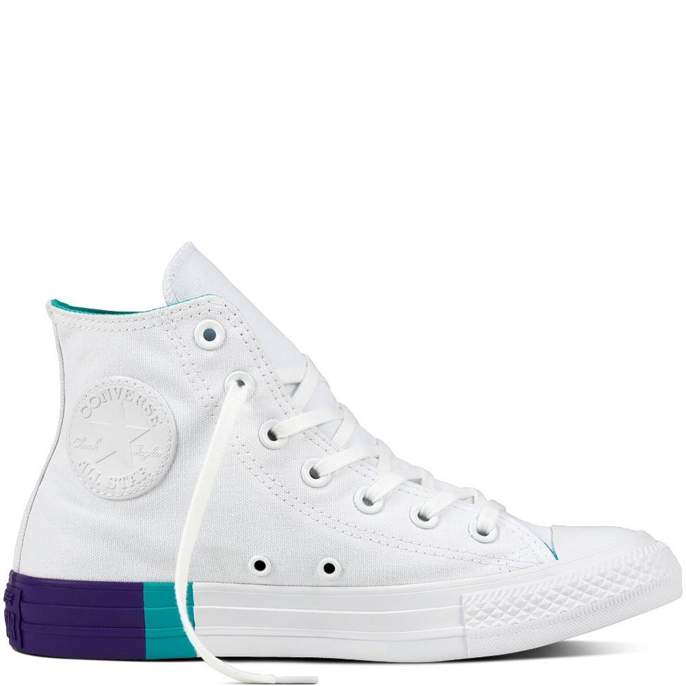 5c7184a19056 CONVERSE Dámske biele tenisky Chuck Taylor All Star Hi - Dámske ...