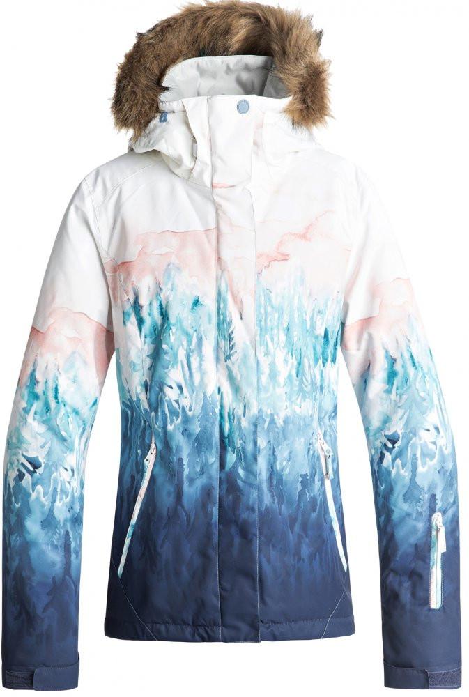 a7ac681d639b Dámska zimná bunda Roxy Jet Ski Se bright white snowyvale - Dámske ...
