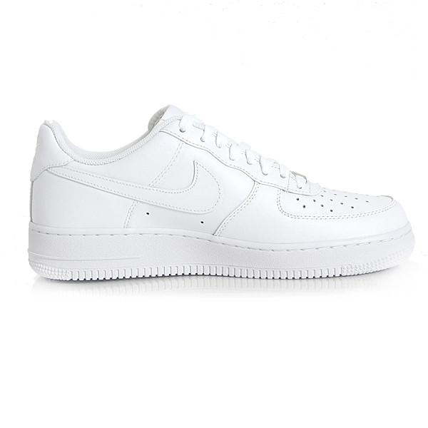Dámske biele nízke tenisky Nike Air Force 1 Low (GS) White - Dámske ... ef91210187a