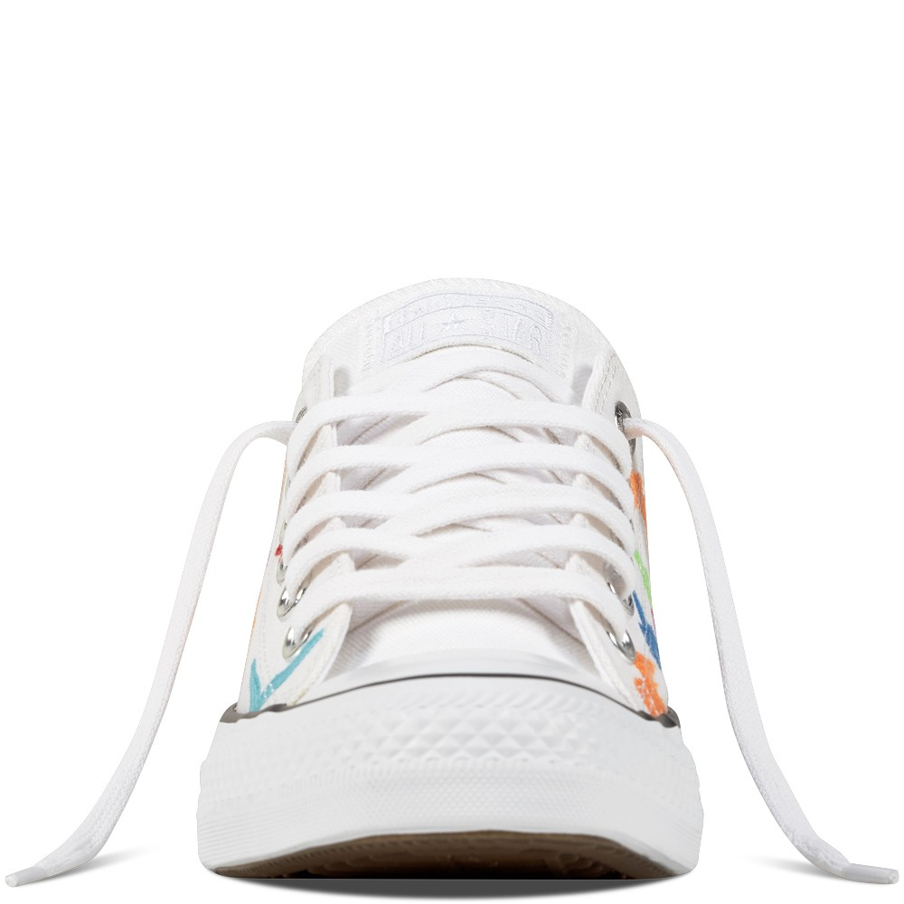 cf89d22e69 Dámske biele plátené tenisky Converse Chuck Taylor All Star - Dámske ...