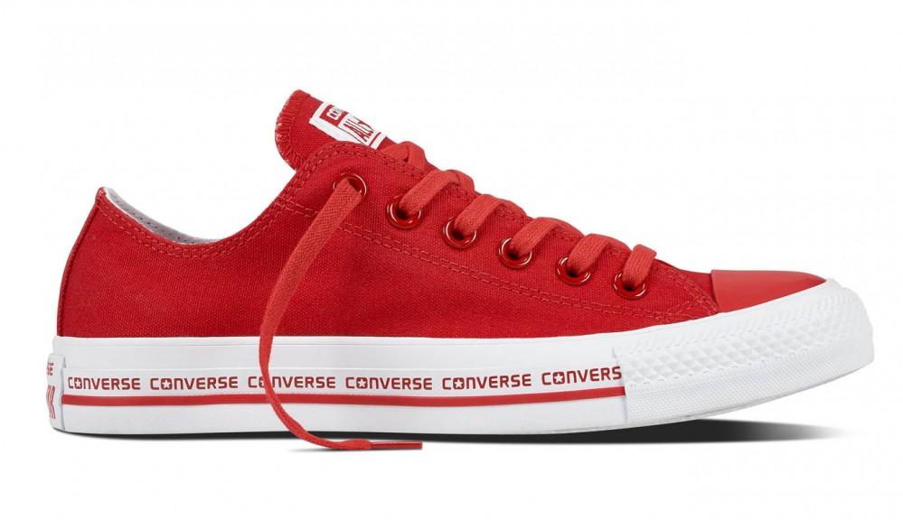 Dámske červené tenisky Converse Chuck Taylor All Star Wordmark ... a06beb0edc