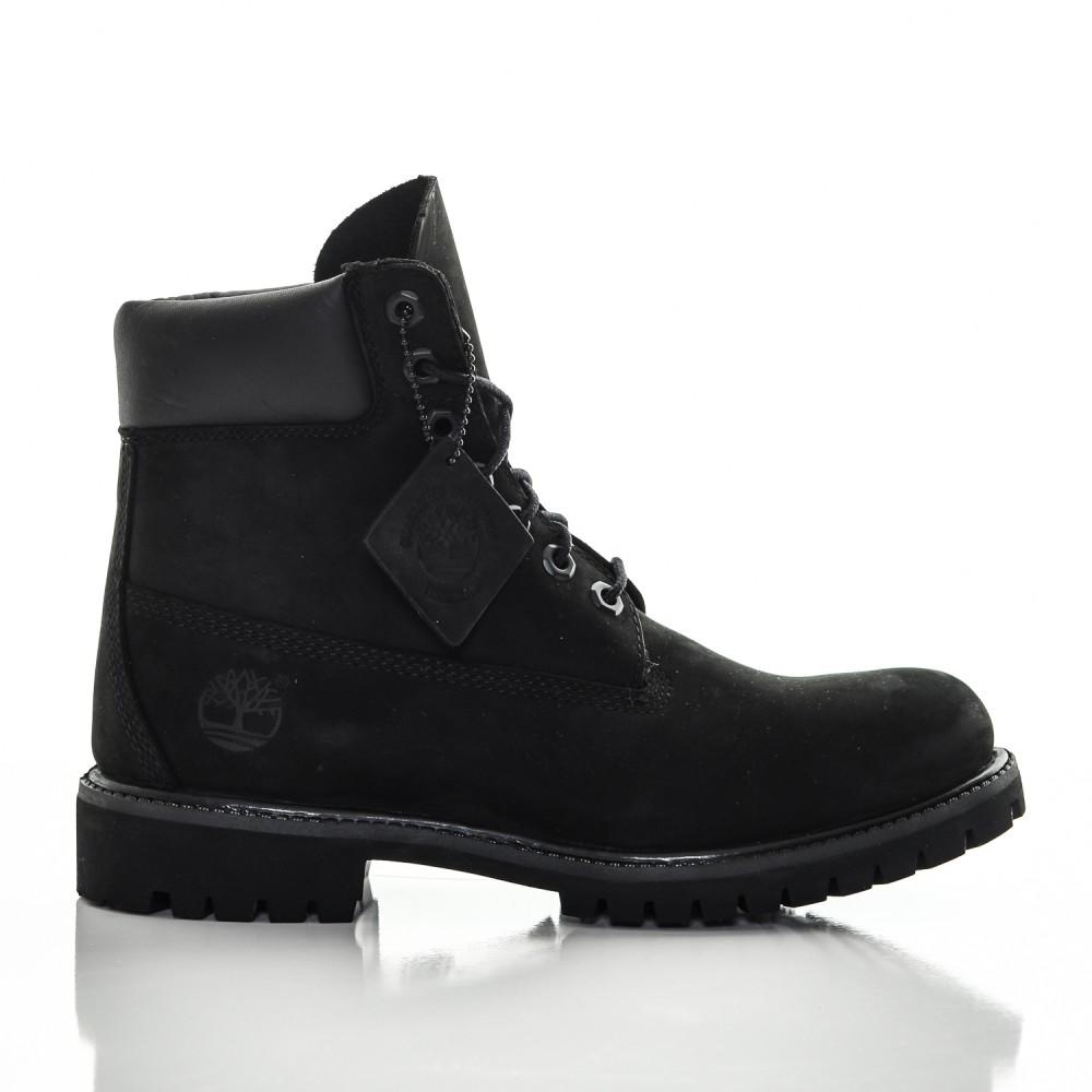 f4544662a35f1 Dámske čierne vodeodolné kožené zimné topánky Timberland 6-INCH ...