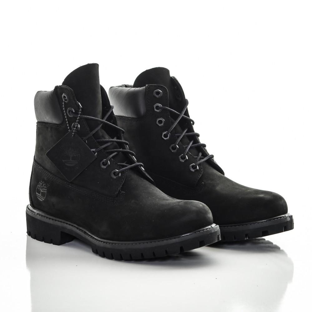 443cdb9967ed Dámske čierne vodeodolné kožené zimné topánky Timberland 6-INCH ...