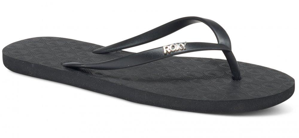 3f6b9c80ae69 Dámske čierne žabky Roxy Viva - Dámska obuv - Locca.sk