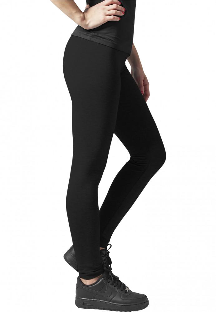 e1030e1e1 Dámske legíny URBAN CLASSICS Ladies Jersey Leggings čierne - Dámske ...