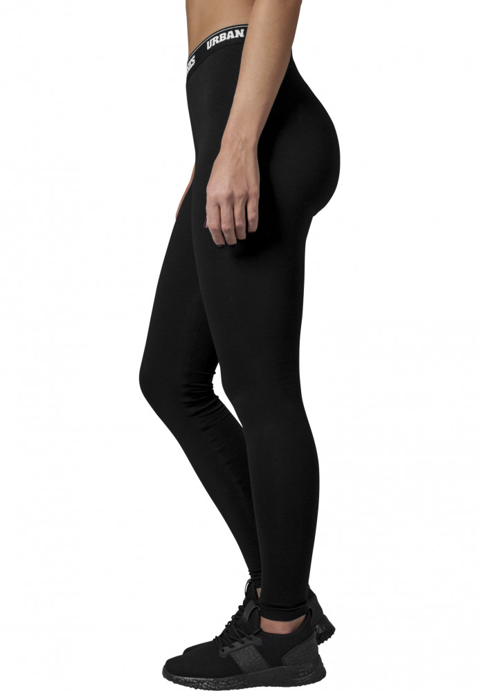 e44ddc208 Dámske legíny URBAN CLASSICSLadies Logo Leggings čierne - Dámske ...