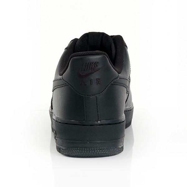 Dámske nízke čierne tenisky NIKE AIR FORCE 1 LOW (GS) BLACK - Dámske ... f7ddad26725