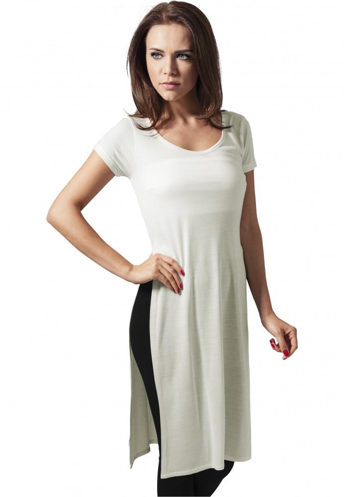 9ad483042e58 Dámske predĺžené tričko Urban Classics Ladies Side Slit Viscose Long ...