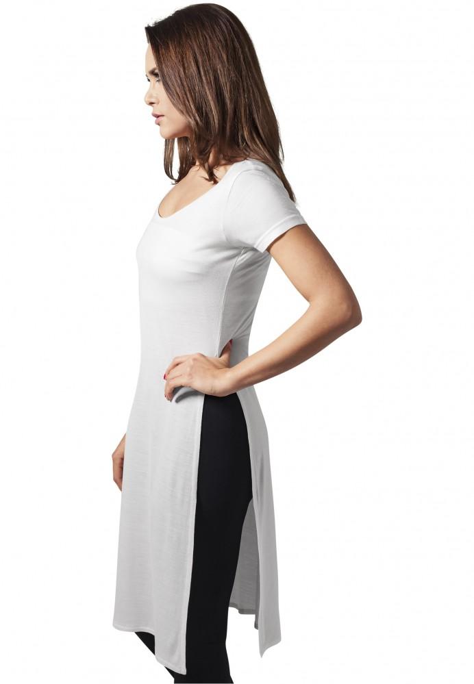 6499cd71b063 Dámske predĺžené tričko Urban Classics Ladies Side Slit Viscose Long Tee  1