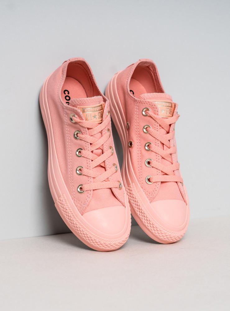 57686e28dee79 Dámske ružové tenisky Converse Chuck Taylor All Star Mono Glam ...