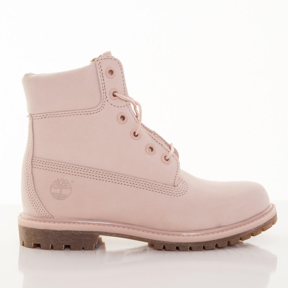 1aa233f34648 Dámske ružové vodeodolné kožené zimné topánky Timberland