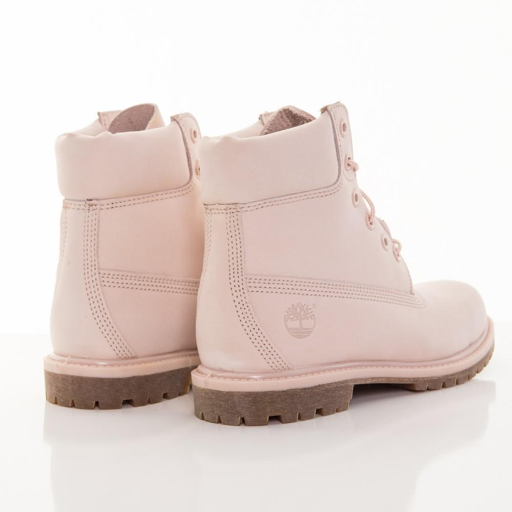 9025dac65a66 Dámske ružové vodeodolné kožené zimné topánky Timberland 6-INCH ...