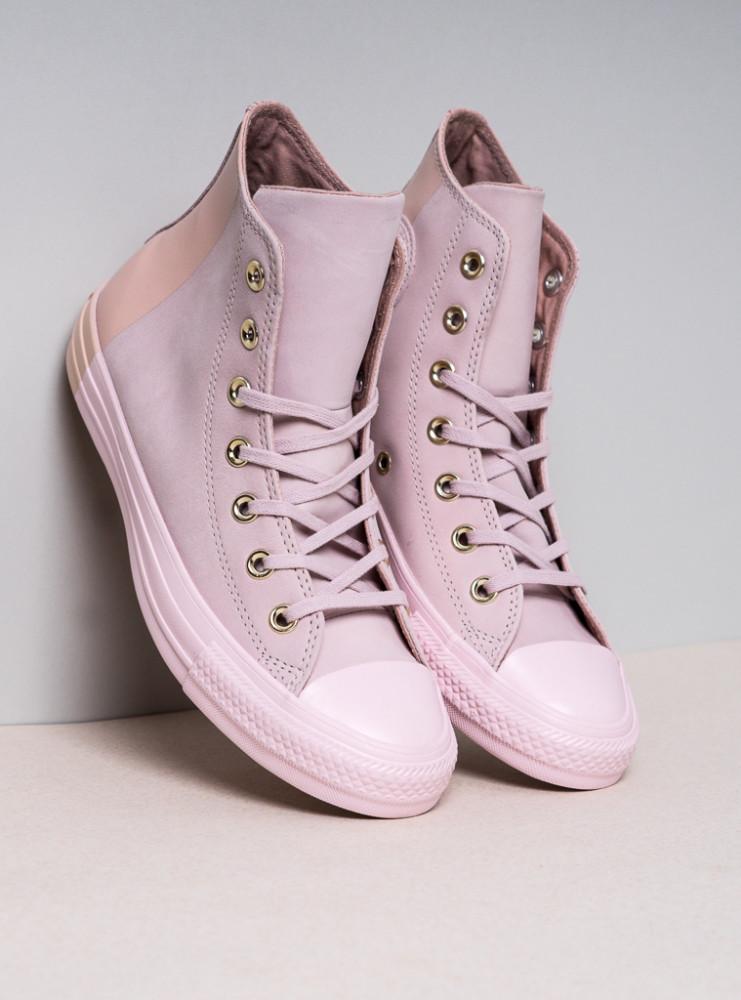 Dámske svetlo-ružové tenisky Converse Chuck Taylor All Star Hi ... 3047cadb068