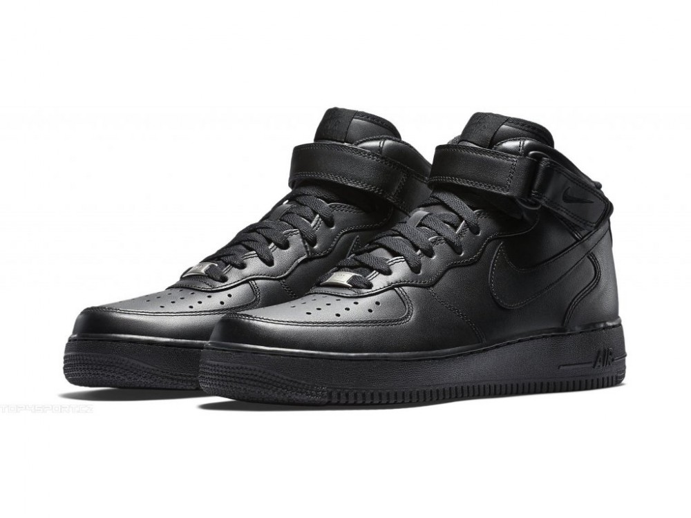 e0b30e9d854 Dámske tenisky Nike Air Force 1 Mid (GS) Black - Dámske tenisky ...