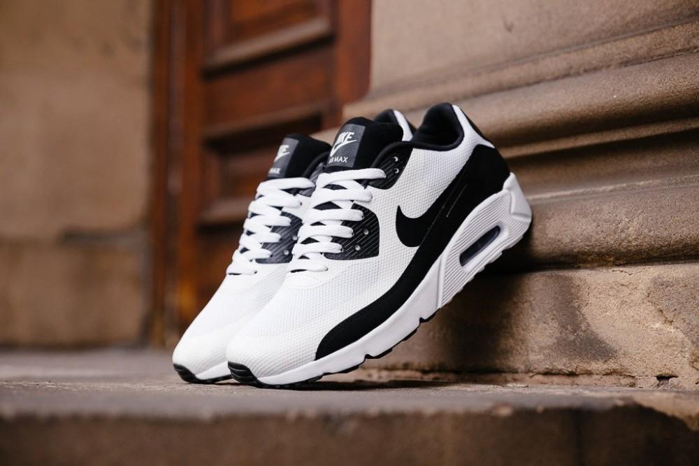 Dámske tenisky Nike Air Max 90 ULTRA 2.0 (GS) White Black White ... 493bdd55c0