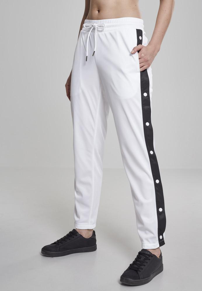 82f6ac8d9a5b Dámske tepláky URBAN CLASSICS Ladies Button Up Track Pants wht  blk wht  1