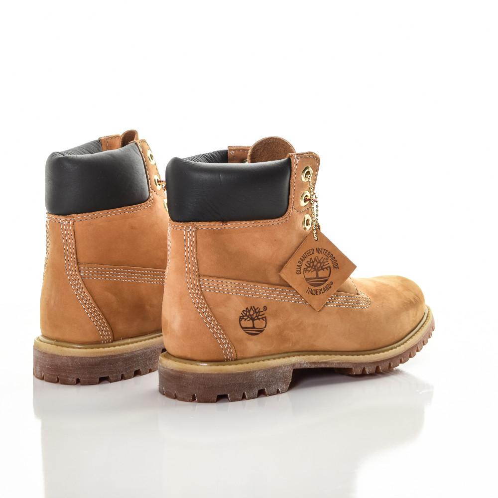 Dámske vodeodolné hnedé kožené zimné topánky Timberland ICON 6-INCH Premium   1 355baffc6b4