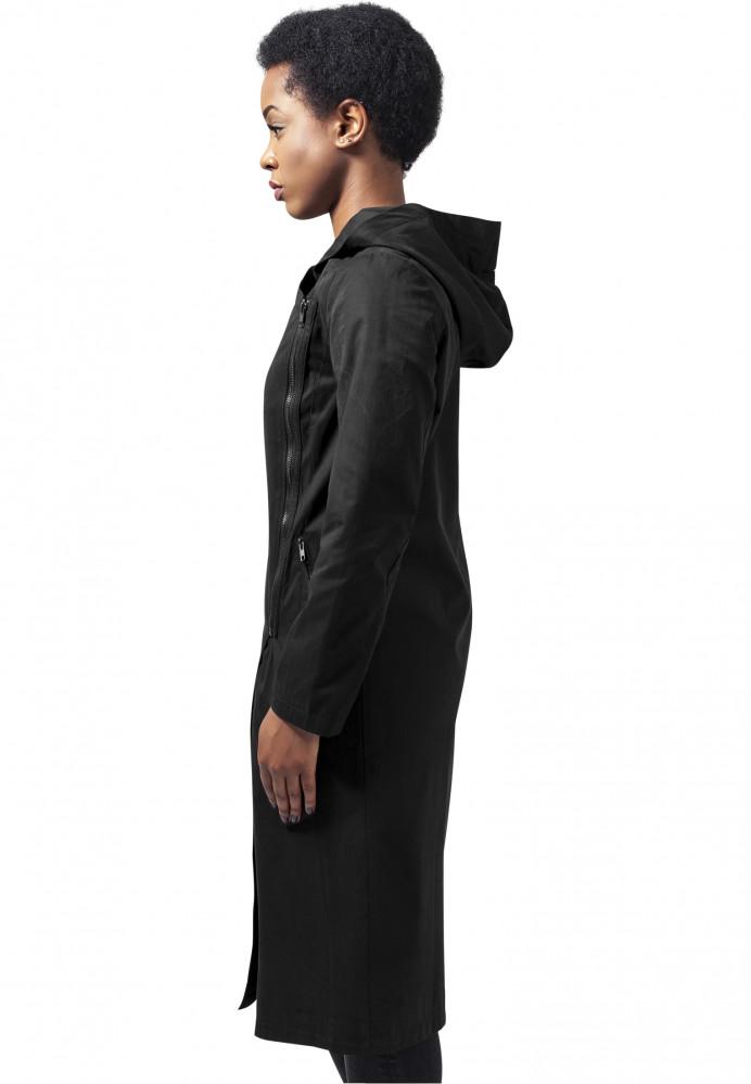 Dámsky kabát URBAN CLASSICS Ladies Peached Long Asymmetric Coat ... 4e9721130f1