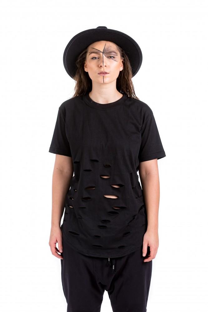 DANNY´S CLOTHING Stylové tričko UNISEX - M / Barva: Černá, Velikost: S