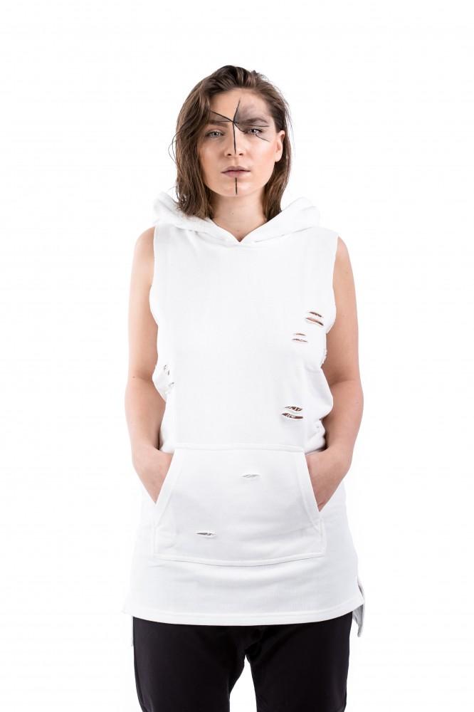 DANNY´S CLOTHING Tričko bez rukávů bílé UNISEX - M   Barva  Bílá ... b601ccac36