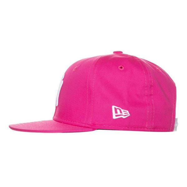 a5959fb5f92 Kids NEW ERA 9FIFTY YOUTH MLB BASIC NEW YORK YANKEES CAP PINK WHITE - UNI