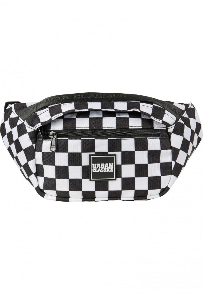 Ľadvinka Urban Classics Top Handle Shoulder Bag black/white
