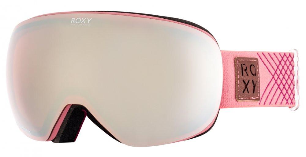 Lyžiarské okuliare Roxy Popscreen dusty cedar - Lyžiarske okuliare ... 6414bbf0b7a