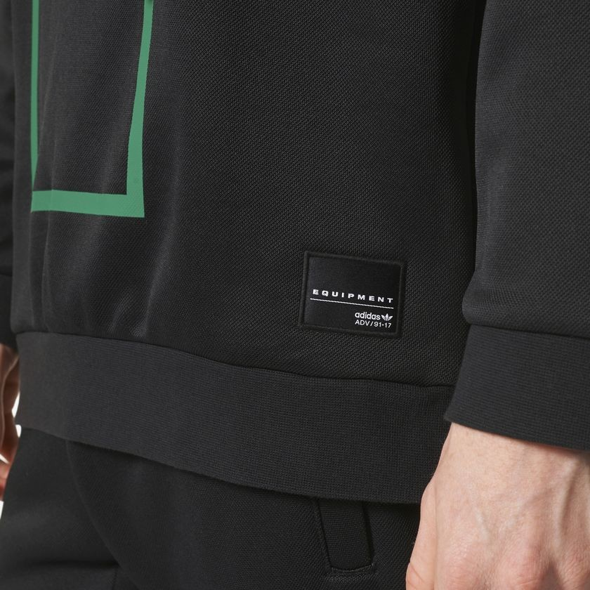 Mikina Adidas Originals EQT Macadam Black - Pánske mikiny - Locca.sk d6211dc132e