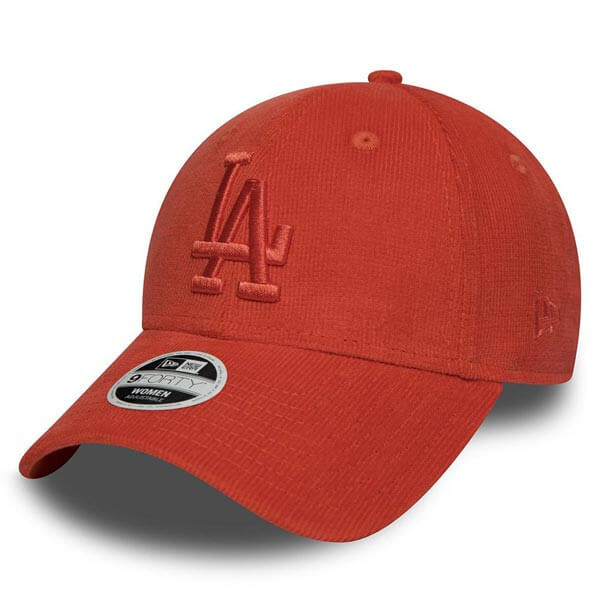 New Era 9Forty MLB Micro Cord Cap LA Dodgers Orange - UNI