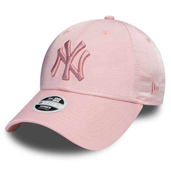 New Era 9Forty Womens NY Yankees Satin Pink - UNI