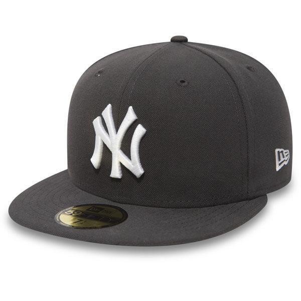New Era MLB Basic NY Yankees Graphite White