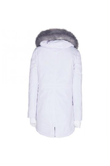 Pánska biela bunda na zimu Sixth June Nylon Lining Fur Parka ... faf5227c458