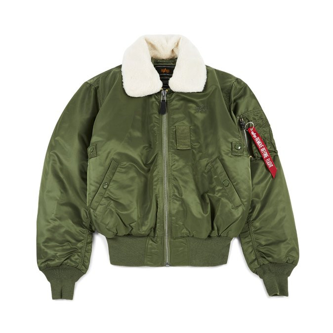 ee4115b56 Pánska bunda Alpha Industries B-15 Flight Jacket Sage Green - Pánske ...