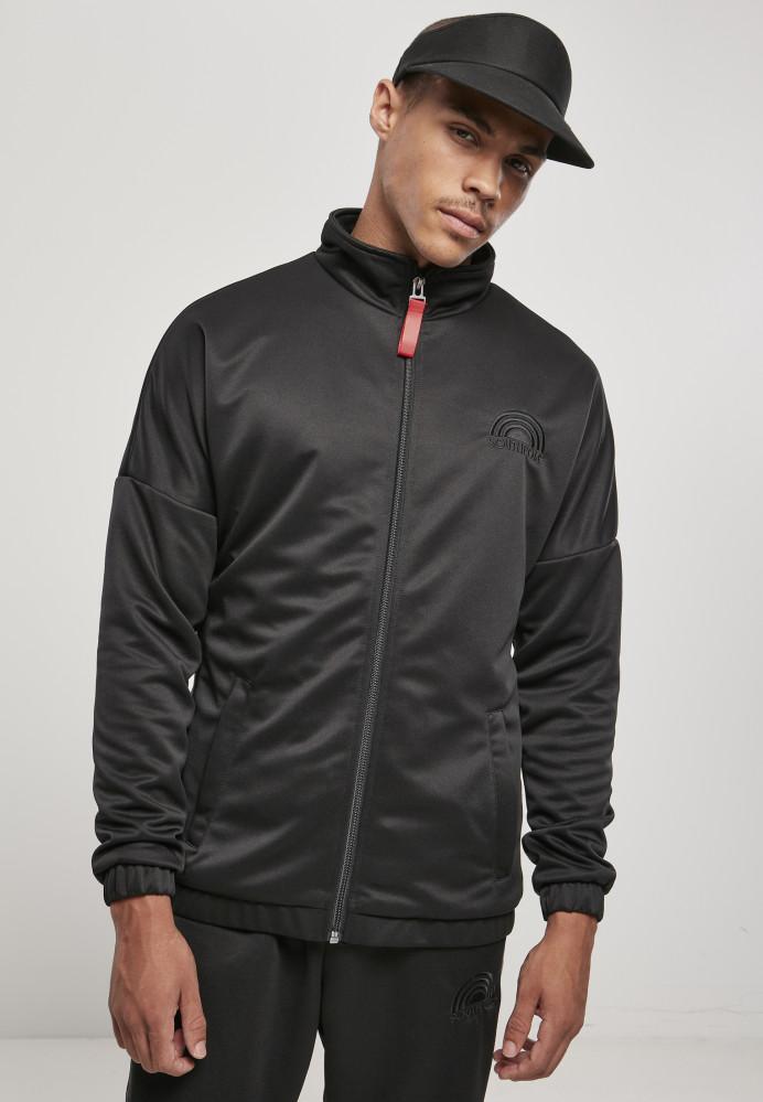 Pánska bunda Southpole Tricot Jacket with Tape Farba: black, Grösse: XXL
