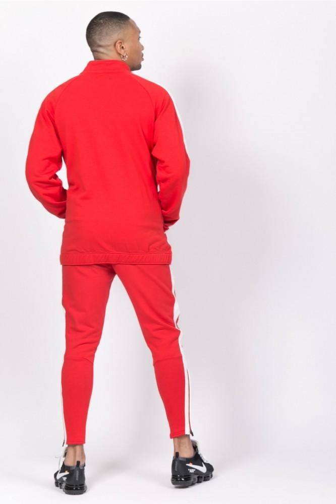 584f38460cf Pánska červená mikina na zips Sixth June Logo - Pánske mikiny - Locca.sk