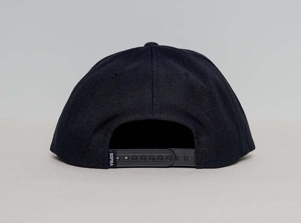Pánska čierna šiltovka Supra Icon - Šiltovky - Locca.sk d208aa4b655