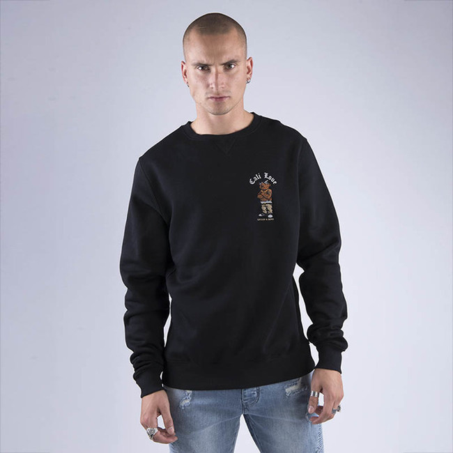 Pánska mikina Cayler & Sons WHITE LABEL Sweatshirt WL Cee Love Crewneck black Size: XL