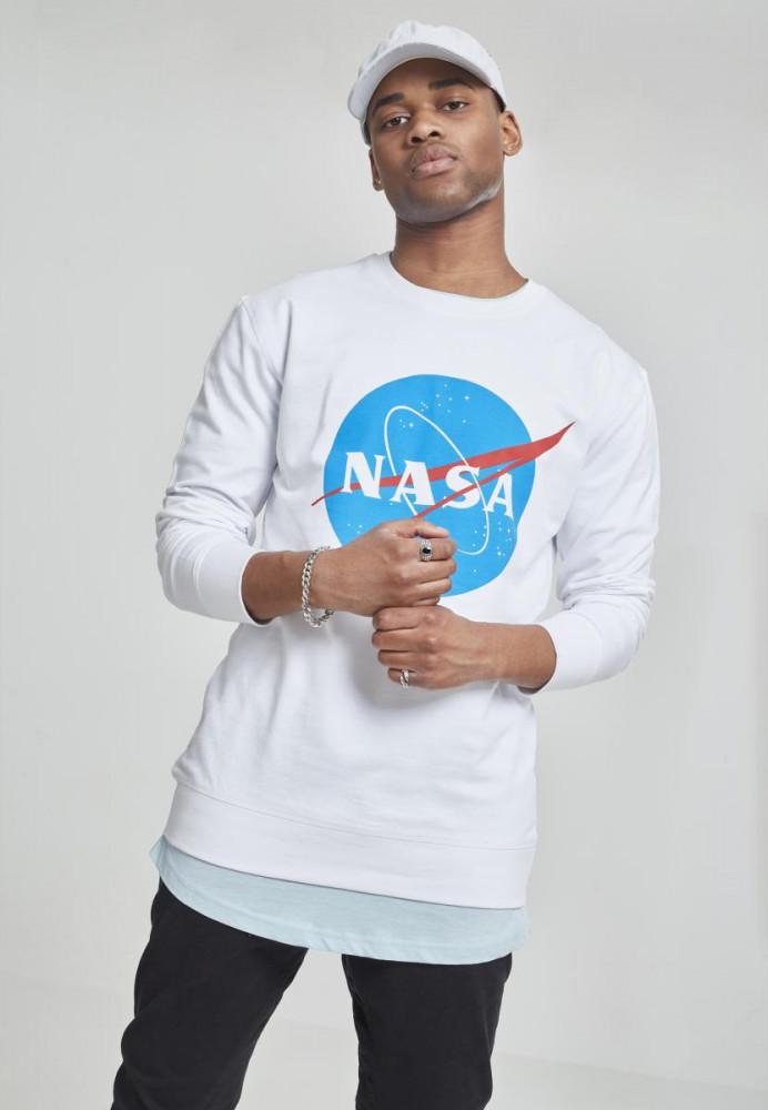 Pánska mikina MR.TEE NASA Insignia Crewneck
