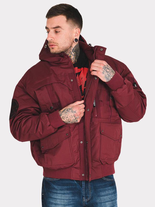 Pánska zimná bunda Amstaff Conex Winterjacket 2.0 Bordeaux 49fd5c55cd7