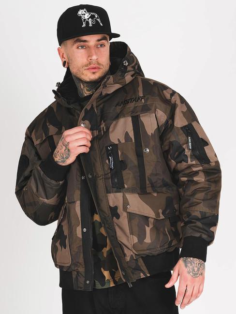 Pánska zimná bunda Amstaff Conex Winterjacket maskáčová