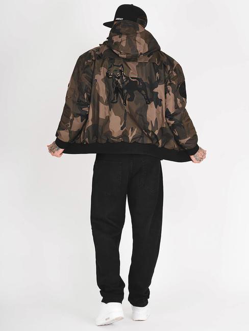 Pánska zimná bunda Amstaff Conex Winterjacket maskáčová - Pánske ... 706463c6b7f