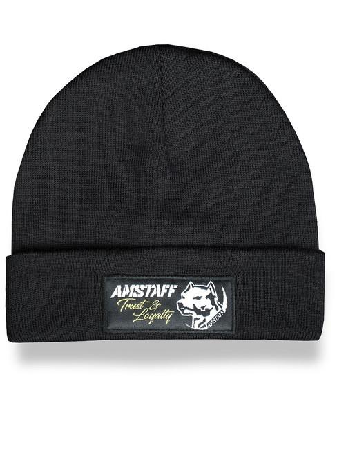 Pánska zimná čiapka Amstaff Loyalty Beanie čierna - Pánske čiapky ... 12d9fd49124