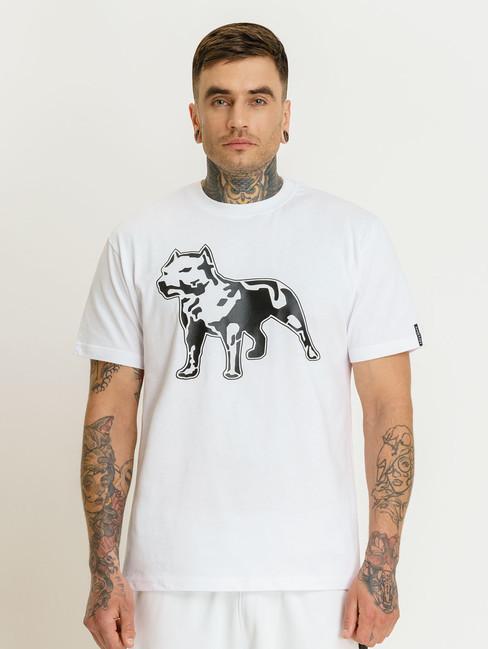 Pánske biele tričko Amstaff Logo 2.0 T-Shirt Size: 3XL
