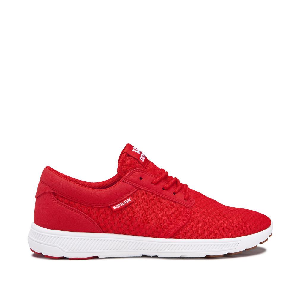 Pánske červené tenisky Supra Hammer Run Risk Red - Pánske tenisky ... a4147a25672