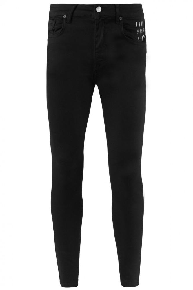 Pánske čierne rifle ALIVE DENIM Essential Jeans - Pánske nohavice ... 856aaef9be