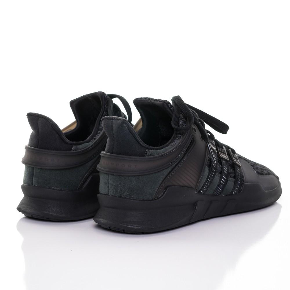 e5f15fa17 Pánske čierne tenisky Adidas Originals EQT Support ADV - Pánske ...