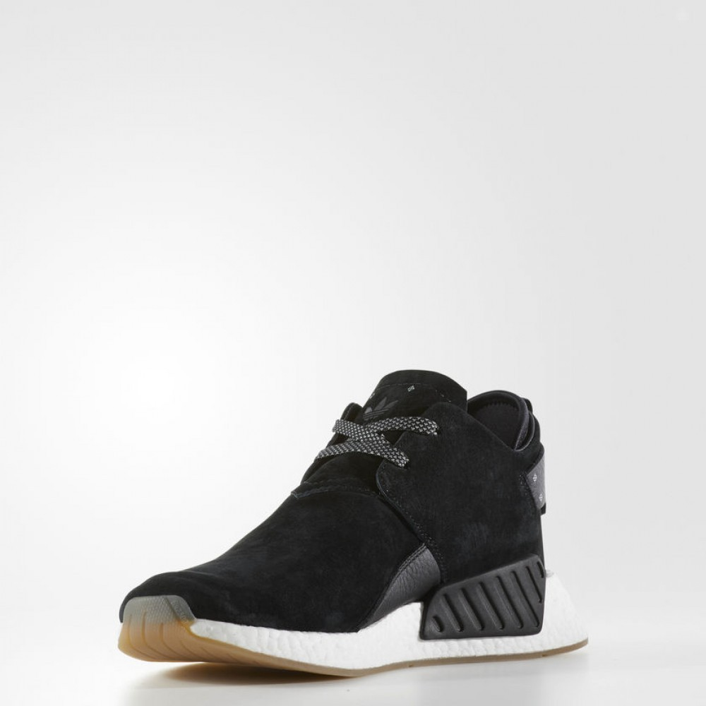 79204f21ab9 Pánske čierne tenisky Adidas Originals NMD C2 - Pánske tenisky ...