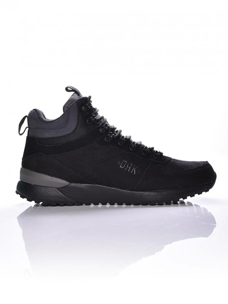 Pánske čierne topánky na zimu Dorko Ultratown - Pánska zimná obuv ... 53bc7d4317